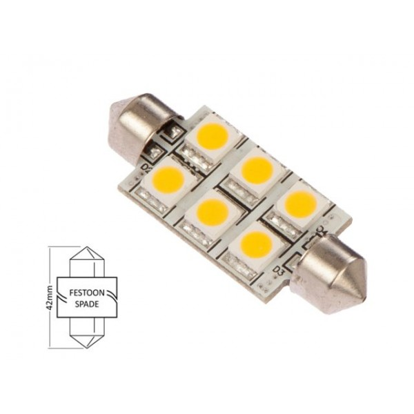 BUIS LED LAMP 1,2W 42 MM