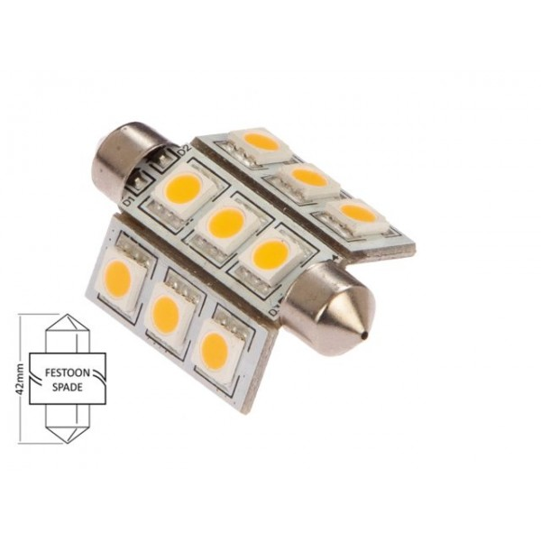 BUIS LED LAMP 2,1W 42 MM