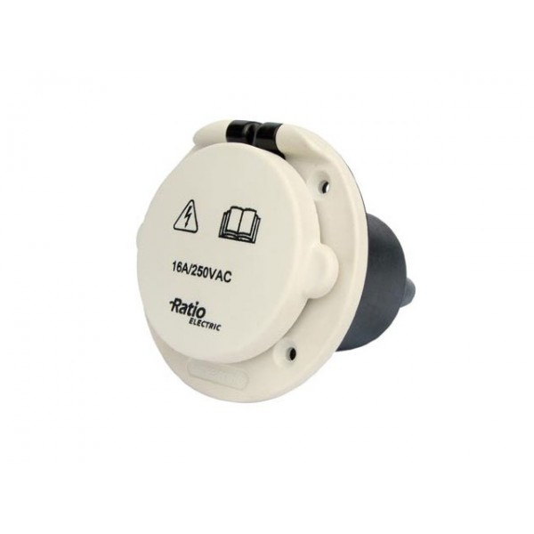 Walstroom MP inlet PVC 16A