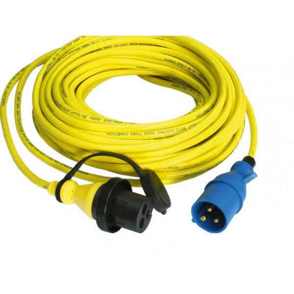 PU Kabel t.b.v. MP Inlet 25M tot 16A