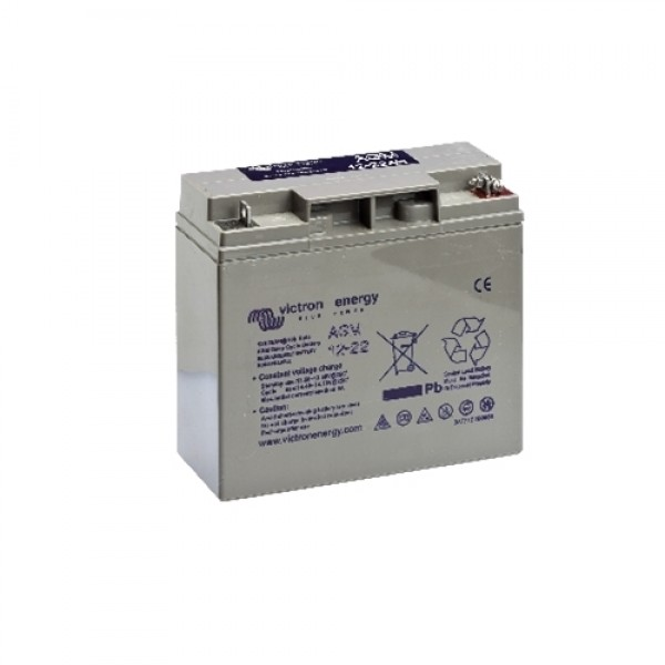 Victron  AGM Batteries   12V/22AH